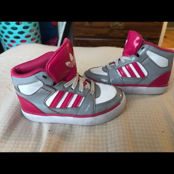 adidas Other - Toddler girl size 7 high top
